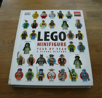 LEGO Minifigure Year by Year A Visual History Book RRP £25