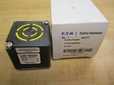 Cutler Hammer E51DT1 Eaton Proximity Sensor Head Series C1 Pack of 3