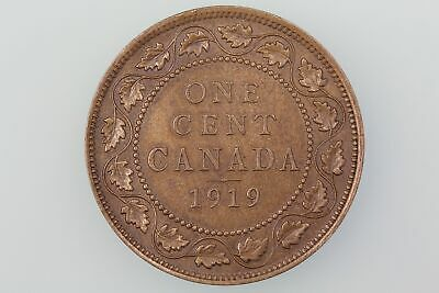 CANADA  CENT COIN 1919 KM 21 Almost UNCIRCULATED
