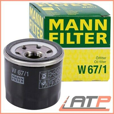 1X Genuine Mann-Filter Oil Filter Ford Econovan 1.4 86-92