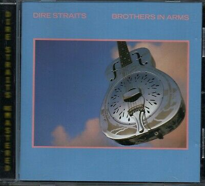 DIRE STRAITS - Brothers In Arms - CD Album *Money For Nothing* *Remastered*
