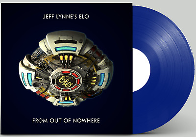 Jeff Lynne's ELO From Out Of Nowhere Sealed BLUE COLOURED 180g Vinyl LP Lynne