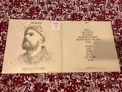 Tom Walker What A Time To Be Alive Sealed Vinyl LP Includes Leave A Light On