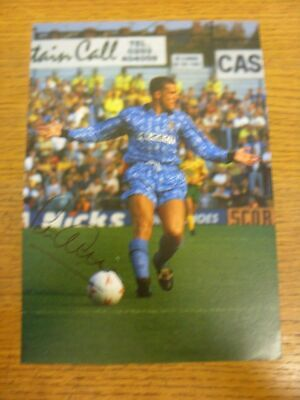 1991-1994 Football Autograph: Coventry City - Peter Atherton [Hand Signed, Colou