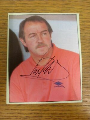 1993-1996 Football Autograph: Nottingham Forest - Frank Clark [Hand Signed, Colo
