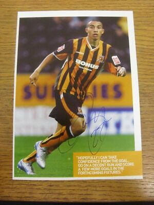 2005-2007 Football Autograph: Hull City - Craig Fagan [Hand Signed, Colour, Maga