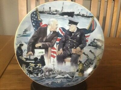 Winston Churchill Plate - Give Us The Tools - This Was Their Finest Hour - Raf
