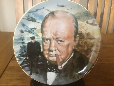 Winston Churchill Plate - Their Finest Hour - This Was Their Finest Hour - Raf