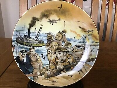 Winston Churchill Plate - We Shall Fight On The Beaches - Was Their Finest Hour
