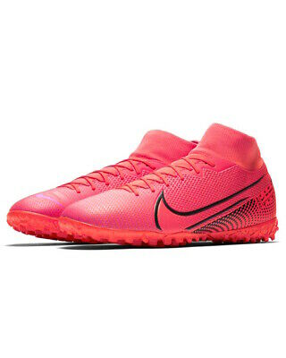 Football boots shoes Nike Cleats Mercurial Superfly 7 academy Turf MEN Red