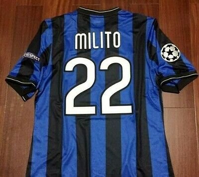 Maglia Inter 2010 Finale Champions League - Vintage Ucl Jersey Camiseta Maillot