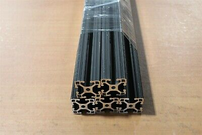 "8020 Inc 15 Series Extrusion Aluminum 1515-Lite Black x 24"" Long Lot A5-01 (5PK)"
