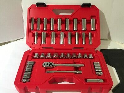 Super Clean! Craftsman 40pc Sockets & Ratchet CMMT12018 SAE/Metric (CJL037464)