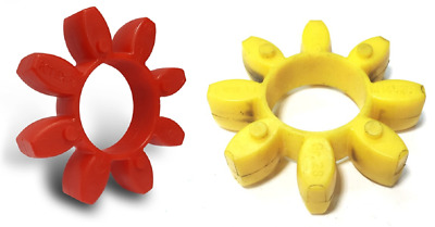 Rotex Coupling Spider Element Insert Red & Yellow 92 Shore 98 Shore