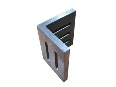 Open End Angle Plate 4-1/2x3-1/2x3 Slotted Plate Ground