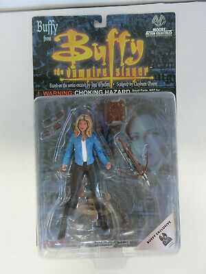 BUFFY SUMMERS Moore Collectibles EXCLUSIVE Figure - Buffy The Vampire Slayer NOC