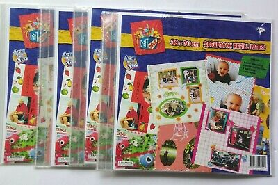 Scrapbook Refill Pages 30 X 30 cm Pack of 5. Acid Free 2 NEW SEALED PACKS