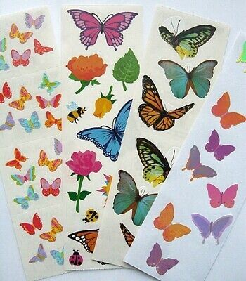 Mrs Grossman  BUTTERFLIES SPARKLE Butterfly  2004 Stickers