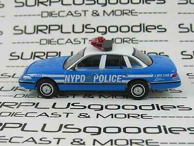 Greenlight 42900 D 1993 Ford Crown Victoria Nypd Interceptor Moulé Voiture 1:64
