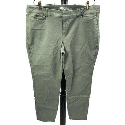Sage Green Old Navy The Pixie Pants Stretch Plus Size 14 Regular
