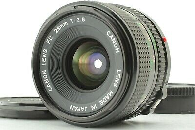 [Mint] Canon New FD 28mm f/2.8 NFD MF Wide Angle SLR Lens from JAPAN 0702