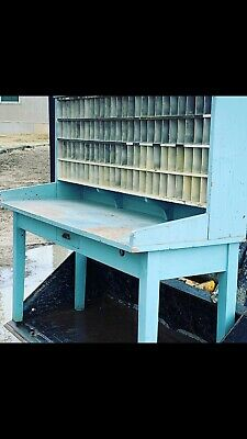 Antique Postal Sorter Desk
