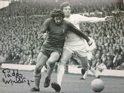 Paddy Mulligan Chelsea v Leeds Signed Autograph 10 x 8 inch Photograph COA