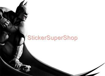 BATMAN Decal Removable WALL STICKER Home Decor Art Mural Super Hero Arkham City