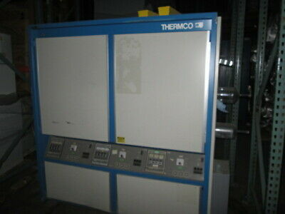 Thermco 3100 furnace, 3 stack, 24 inch flat zone. perfect for 100mm