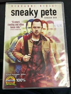 Sneaky Pete: Season One (DVD, 2018, 3-Disc Set)