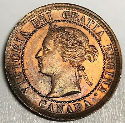 # C939     CANADA   COIN,     LARGE CENT    1888   Au