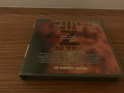 Max Brooks World War Z Unabridged Audio Book CD's