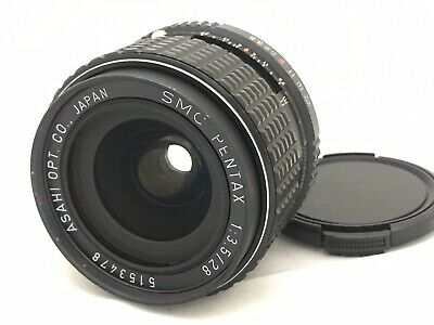 SMC Pentax 28mm f/3.5 MF Lens K Mount From Japan [Exc+++++] #5153478