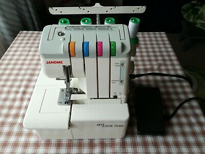 JANOME My Lock 744D Overlock for sewing machines for stitching seams from knitwe