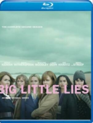 BIG LITTLE LIES: COMPLETE SECOND SEASON (Region A BluRay,US Import,sealed.)
