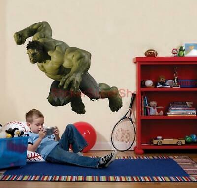 The Avengers HULK ATTACK Removable WALL STICKER Home Decor Art Marvel Super Hero