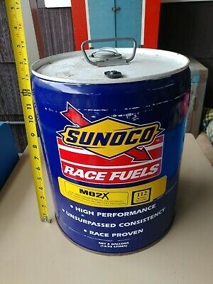 MX 20L Fuel Jug Sunoco Racing Container Standard Cap Red Motocross