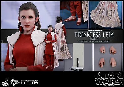 Hot Toys Star Wars Princess Leia Bespin 1/6 Scale Figure ESB Carrie Fisher New