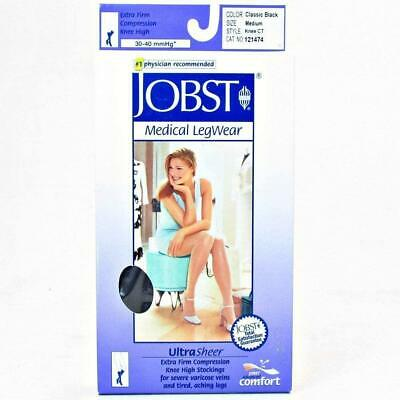 JOBST UltraSheer Compression Support Pantyhose 15-20mmHg Closed Toe, S, Anthraci