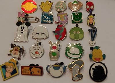 Disney Trading Pins-Lot of 25-No Doubles-LE-HM-Rack-Cast-Free Shipping