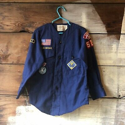 CUB SCOUTS DEN NUMBER UNIFORM PATCHES YOUR CHOICE A01081~97 PRE-OWNED
