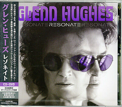 Glenn Hughes-Resonate-Japan CD+DVD Adicional Track Limitada / Ed. I98