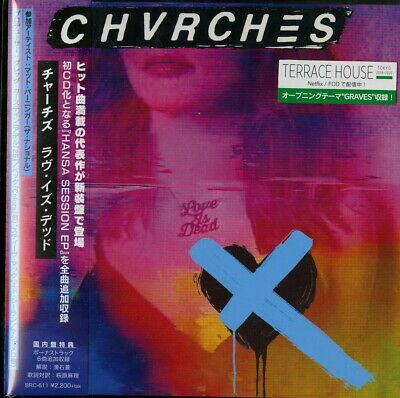 Chvrches-Love Is Dead +6-Japan Mini Lp Cd E78