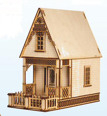 Dolls House Lazer Cut Little Ann Victorian Cottage 1:12 Scale Flat Pack