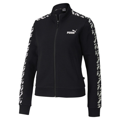 PUMA AMPLIFIED TRACK JACKET TR W GIACCA DI TUTA FULL ZIP DA DONNA felpa