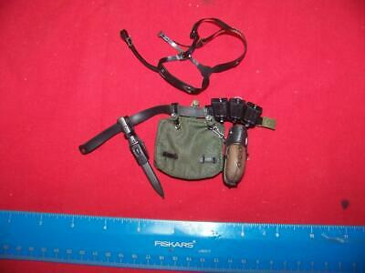Ammo Pouch /& More #2 1//6 Scale Dragon German Belt Suspender