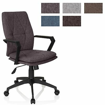 Office Chair Swivel Chair Home Office Executive Chair Fabric LEVIO hjh OFFICE