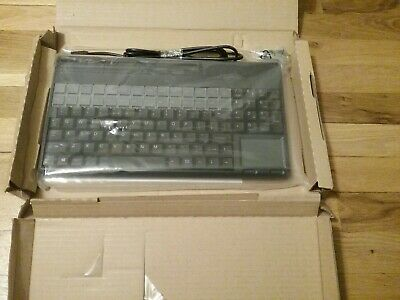 Cherry POS USB Keyboard w/ Track Mouse Pad & Card Read P/N: SPOS G86-62411EUAGSA