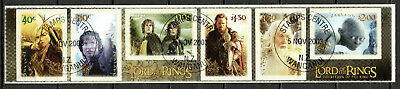 New Zealand - 2003 Lord of the Rings / Movie - Mi. 2136-41 VFU
