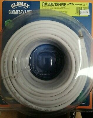 GLOMEX LOW LOSS VHF COAXIAL CABLE 50 Ohms RG8X GLOMEASY